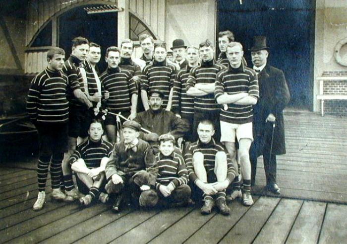 Trainingsleute 1914