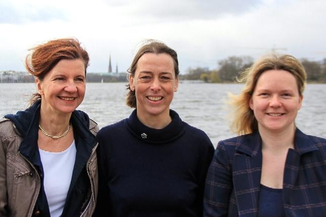Claudia Niendorf, Katharina von Kodolitsch und Anja Kämmerer (von links).