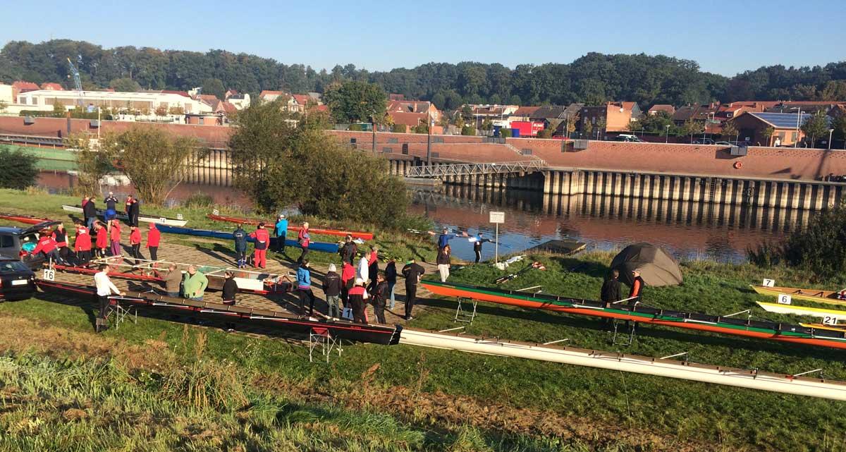 Elbe Pokal 2015 - Start in Boizenburg