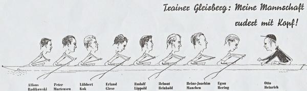 Legendäre Achter aus 1955