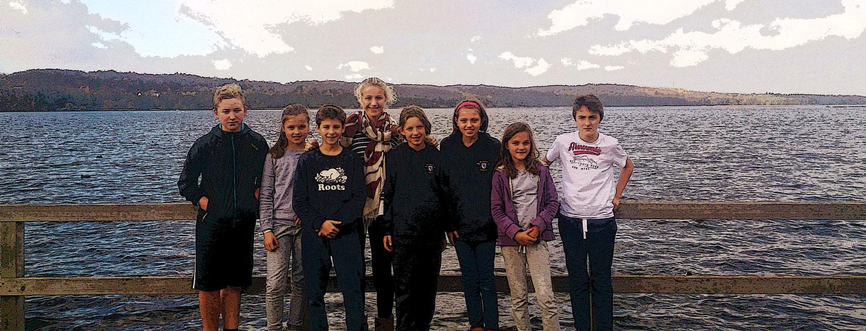 Waren mit dabei (v.l.n.r.): Tobi, Greta, Noah, Marit, Pauline, Lotta, Fanny und Johann