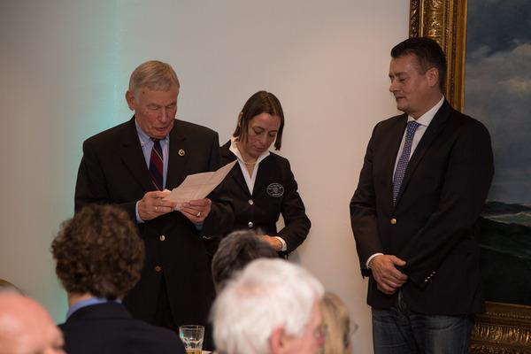 Germania-Preisträger Jean-Marc Göttert; Siegerfeier 2015
