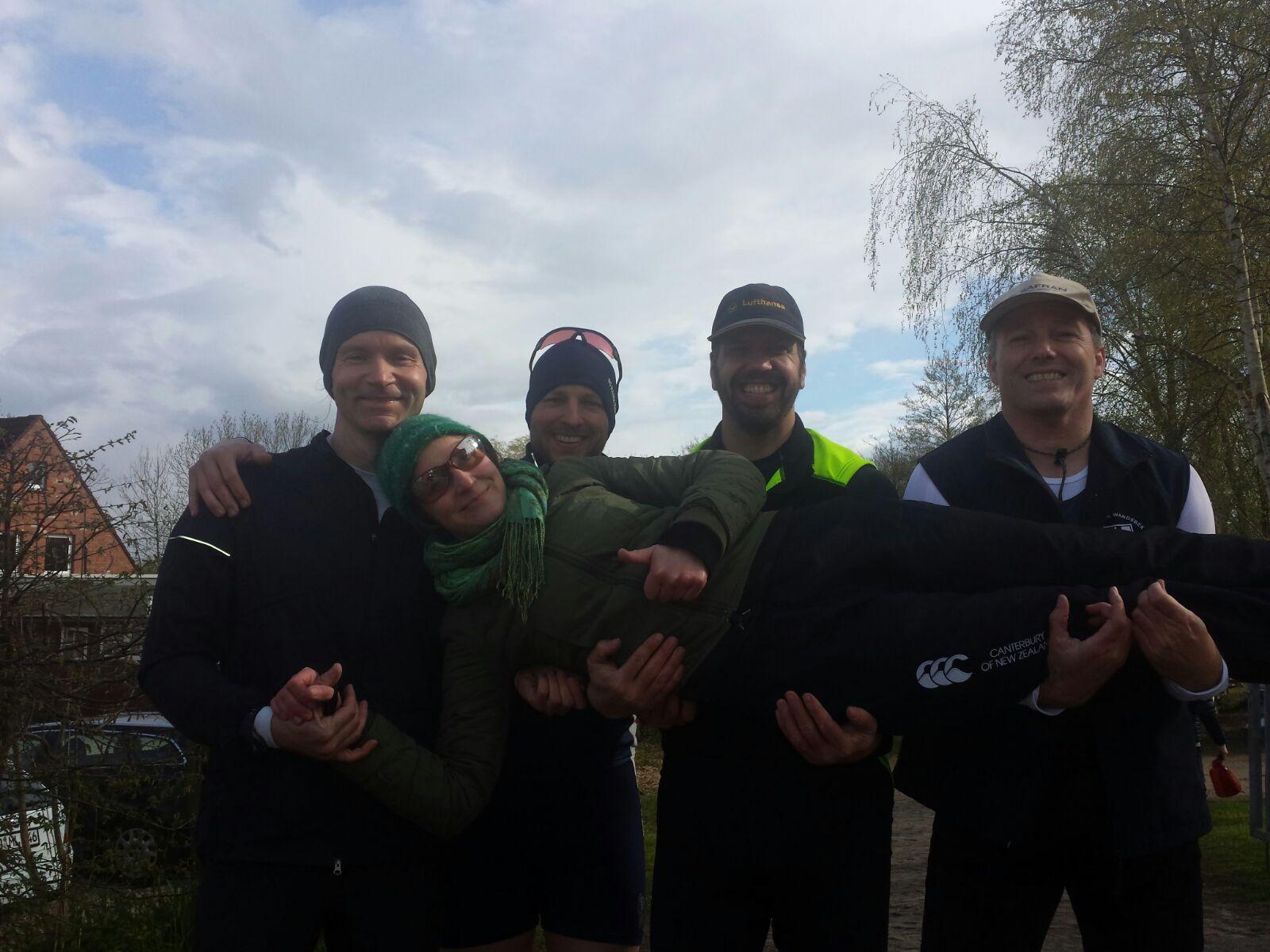 Michael Schade (Protesia), Alexander Liedtke (RG HANSA), Ansgar Heinze, Stephan Olesinski (WSV), Stuf. Katja Sauerbier (WSAP)