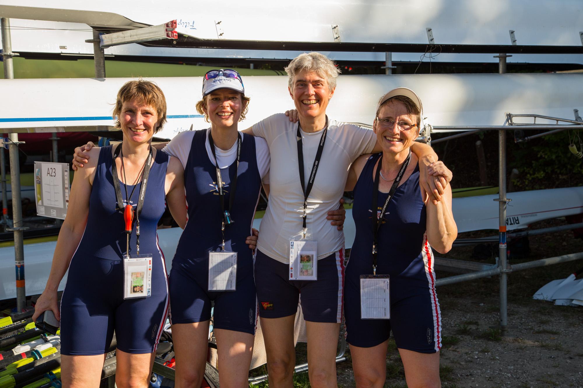 WD 4x: Anke Buettenbender, Helke Schüler, Antje Ploeger, Katrin Martinen