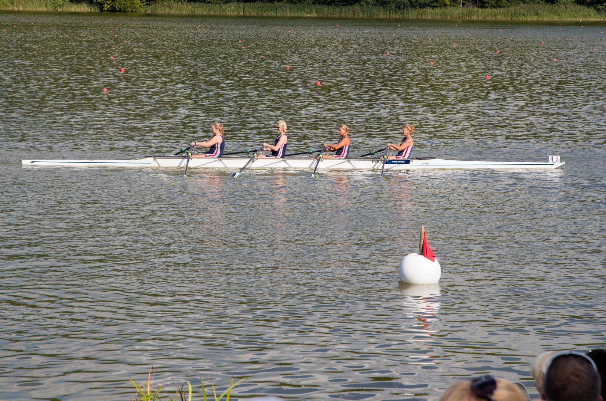 Babora, Katja, Jana und Silke nach ihrem 4x Rennen