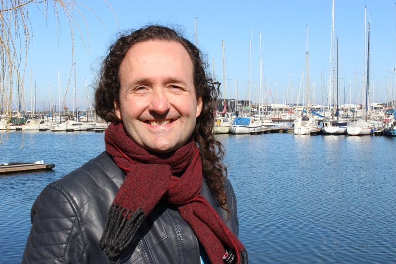 Niels Bak Henriksen vom Dansk Forening for Rosport