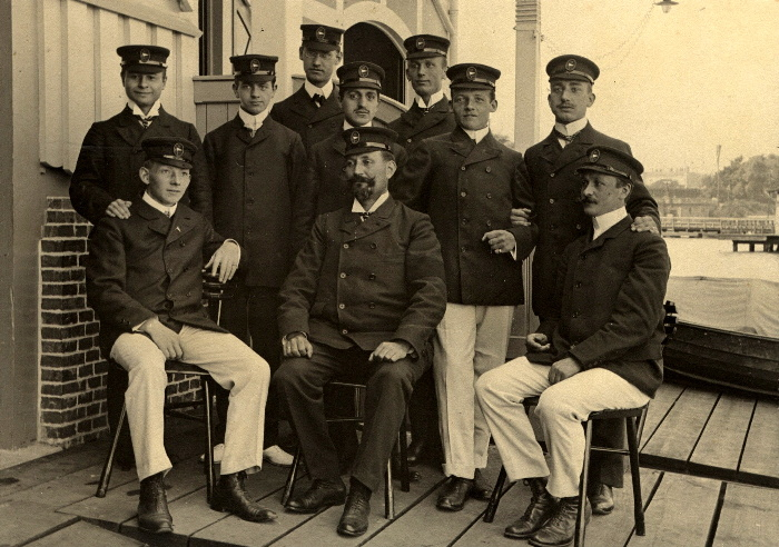 Trainingsleute 1905